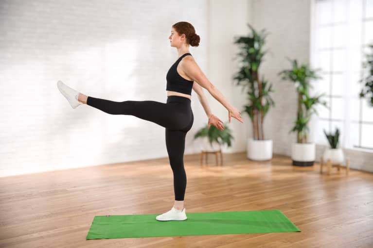 A 10-Minute, Low-Impact Cardio Workout That Also Builds Full-Body Strength