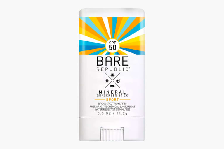 <p>Bare Republic Mineral Sunscreen Sport Stick SPF 50</p>