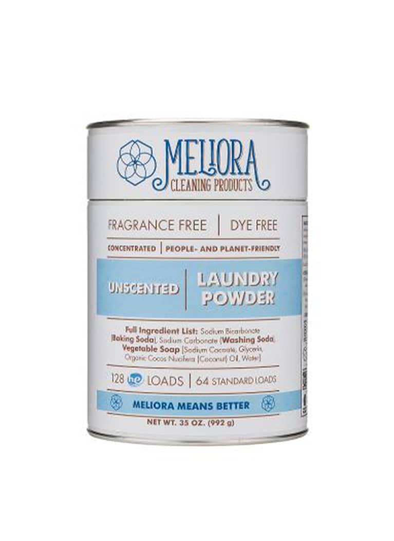 Meliora laundry powder can