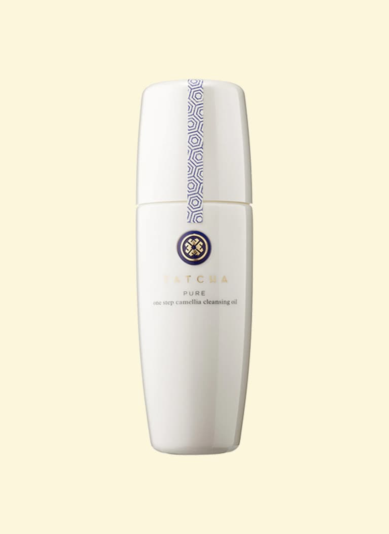 tatcha oil cleansing