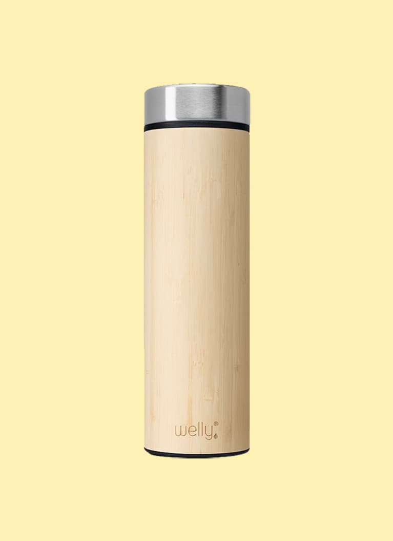 7. A reusable bottle.