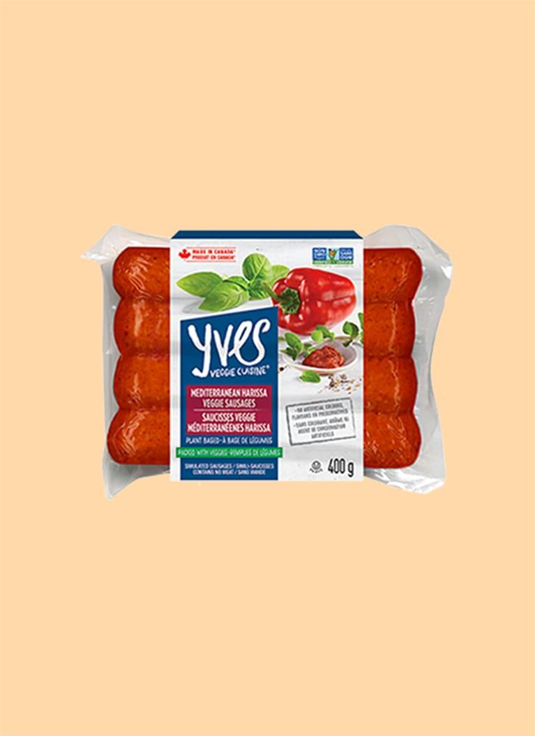 Yves Mediterranean Harissa Veggie Sausages
