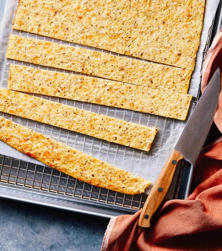 Keto-Friendly Cauliflower Breadsticks