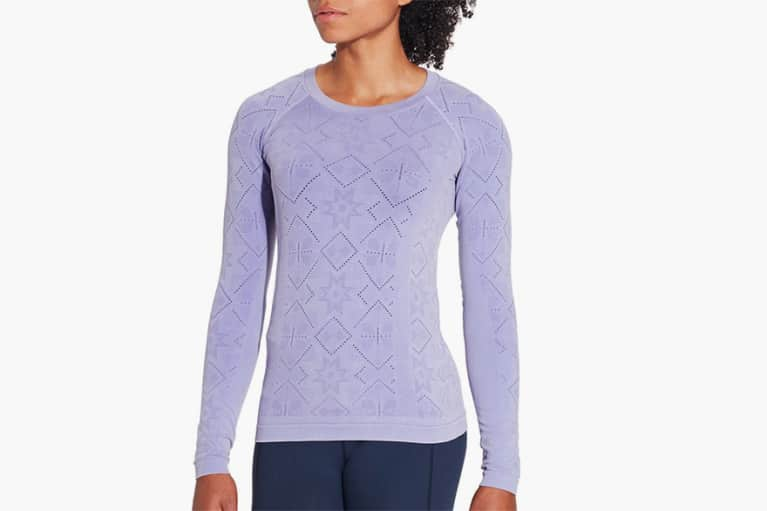 <p>Women's Seamless Long Sleeve Shirt</p>