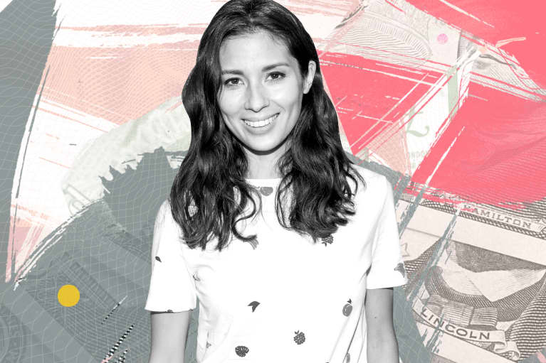 Jasmine Hemsley talks about financial wellness on mindbodygreen