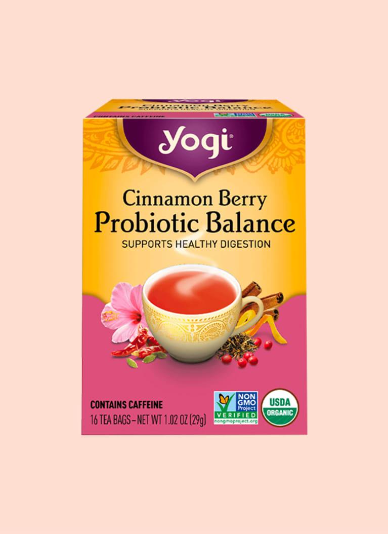 Yogi Tea Cinnamon Berry Probiotic Balance