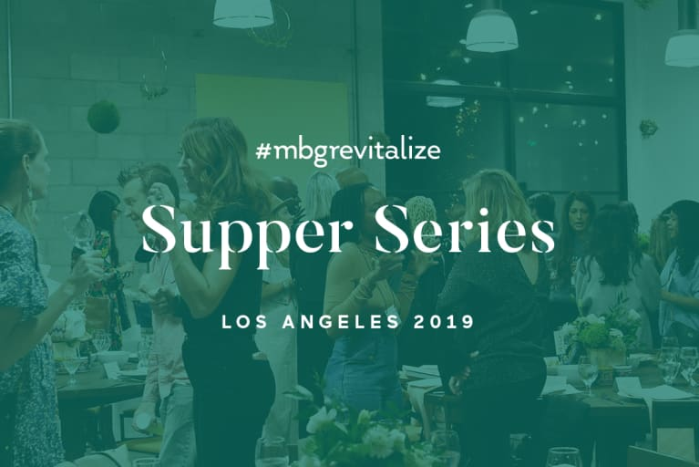 Innovation & Accessibility For All: Sharing The Future Of Wellness At mbg's revitalize Supper Series 2019