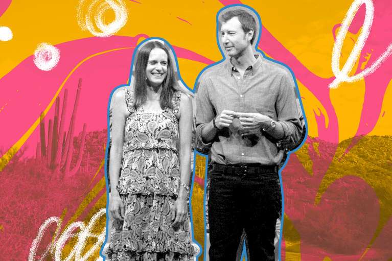 Jason and Colleen Wachob at mindbodygreen revitalize 2019