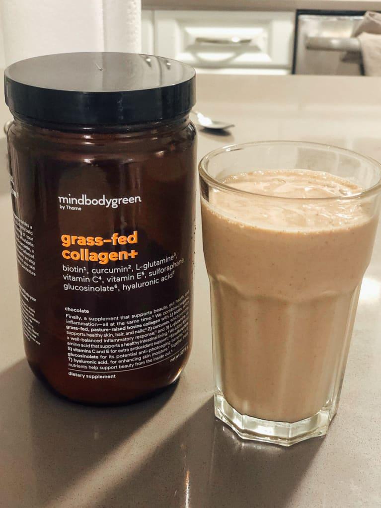 mindbodygreen Chocolate Collagen Powder Recipe