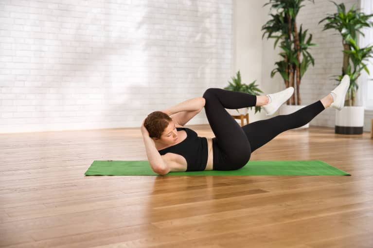 This Spicy Workout Only Takes 5 Minutes To Set Your Abs Ablaze