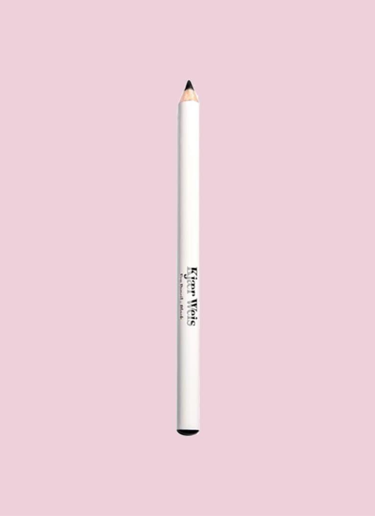 Kjaer Weis Eye Pencil over pink background