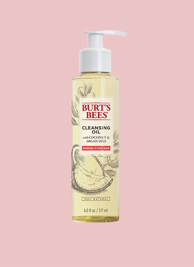 For very dry, eczema-prone skin: Burt's Bees Facial Cleansing Oil