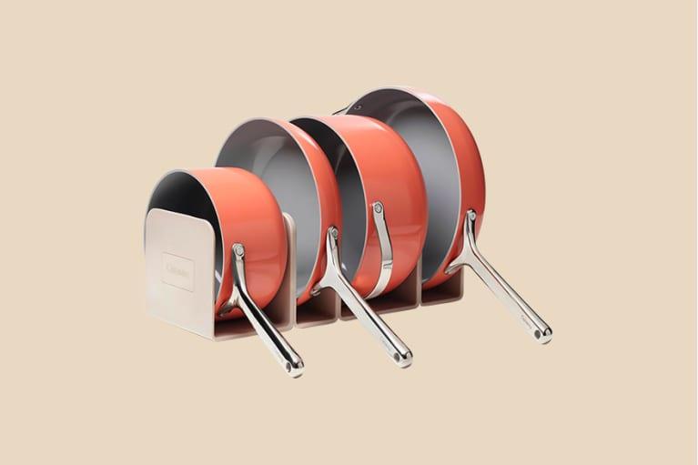 <p>Cookware &amp; Cabinet Organizer Set</p>