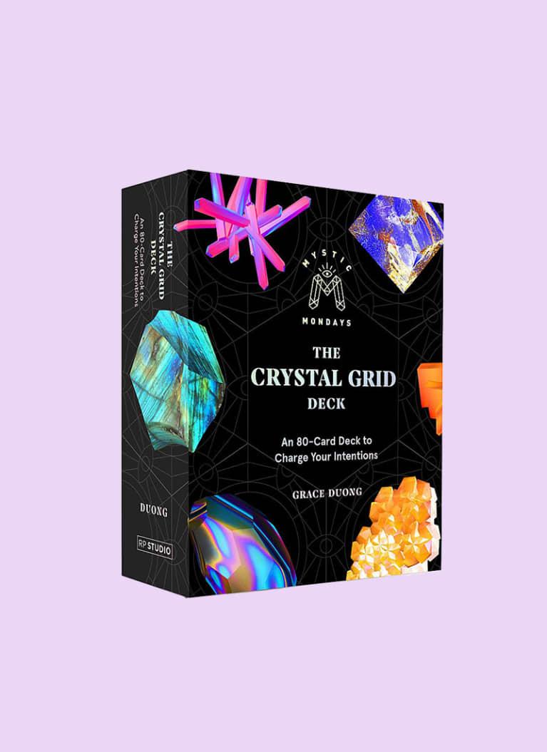 8. Mystic Mondays Crystal Grid Deck