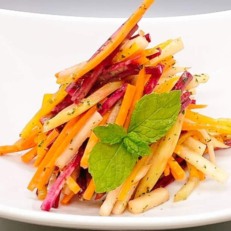 Beet, Apple, & Carrot Salad