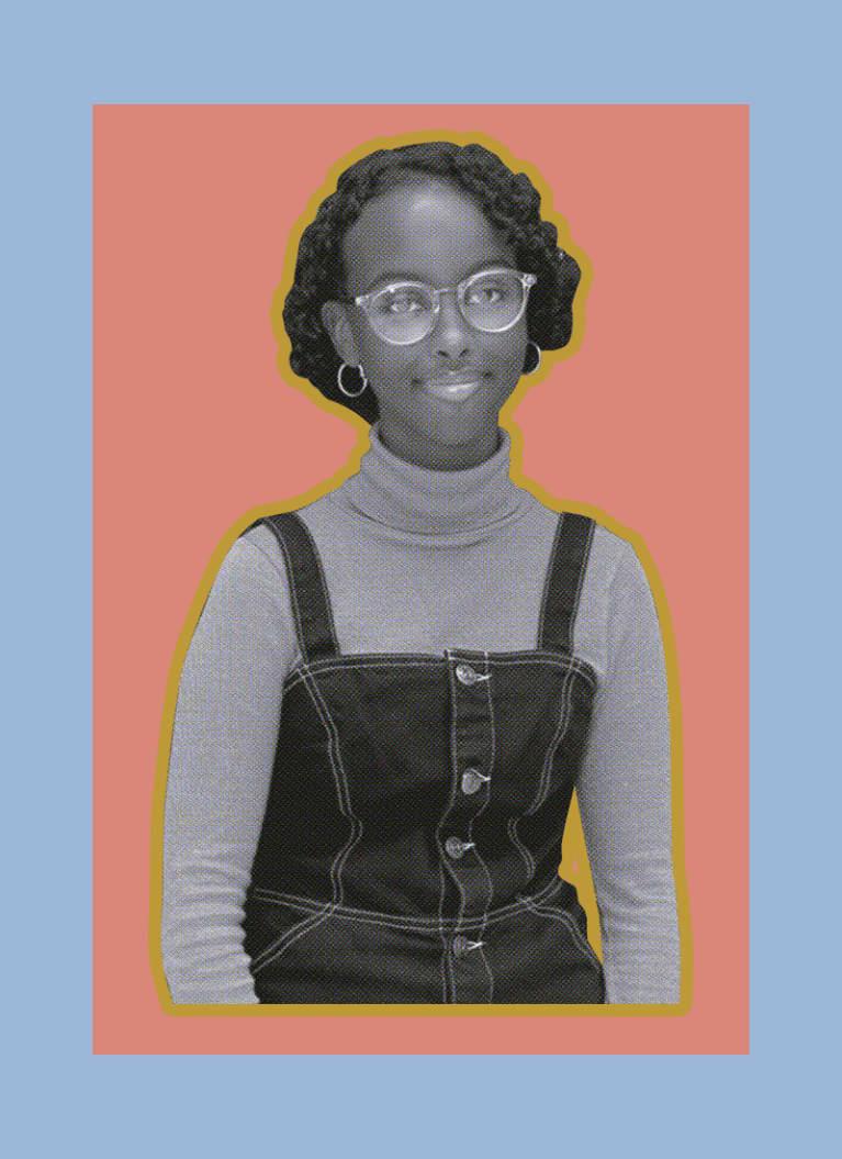 6. Isra Hirsi (16 years old)