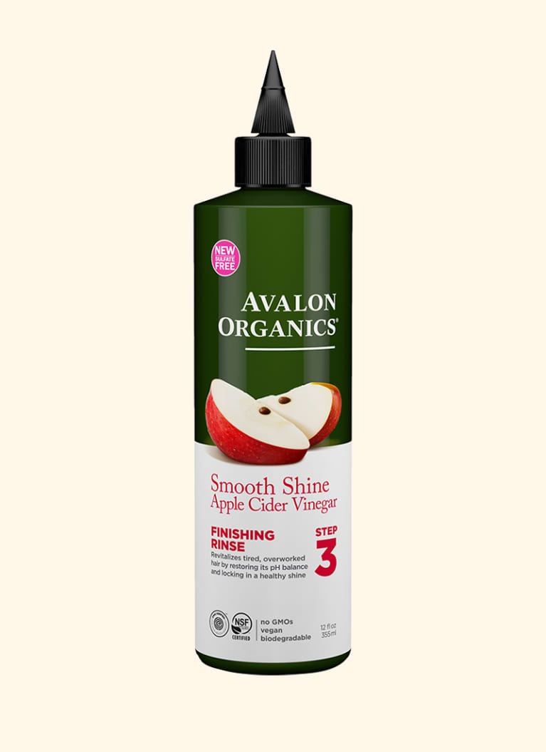 Avalon Organics Smooth Shine Apple Cider Vinegar Finishing Rinse