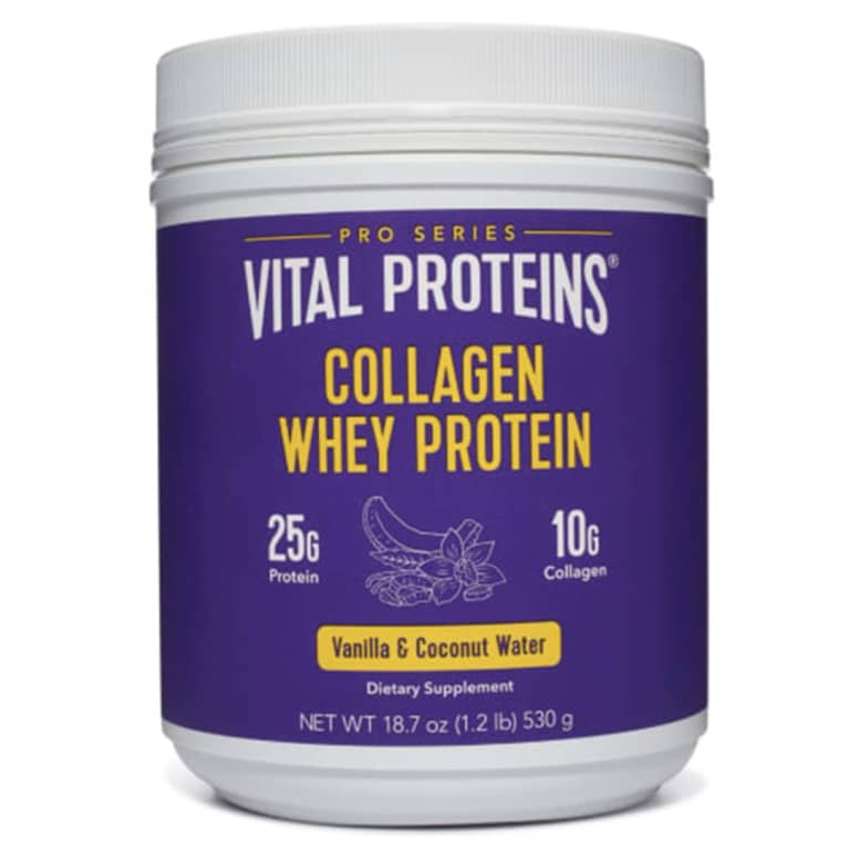 vital proteins collagen + whey powder