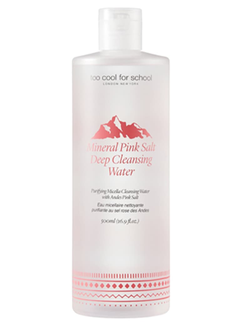 Too Cool For School Mineral Pink Salt Deep Cleansing Water