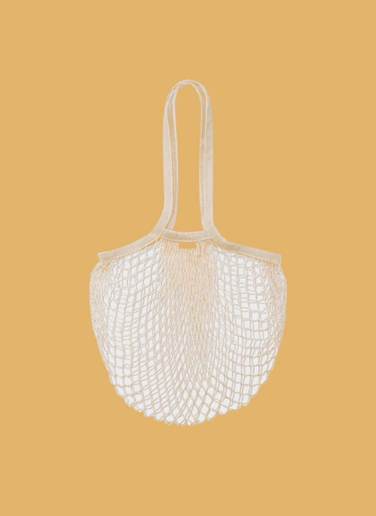 Public Goods large mesh tote bag