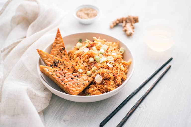 Tempeh: The Fermented Soybean Product That's Healthier Than Tofu