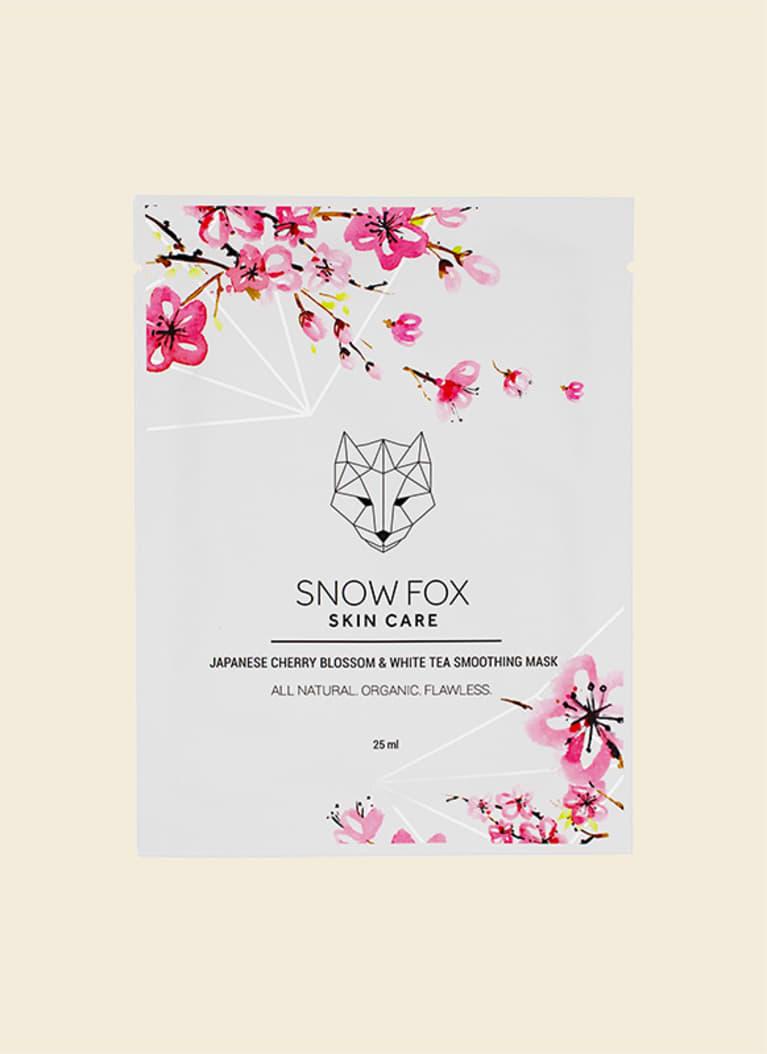 snow fox skin care sheet mask