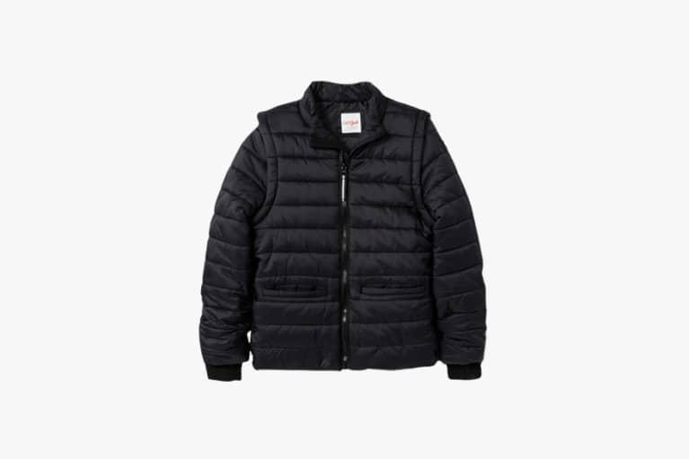 <p>Puffer coat</p>