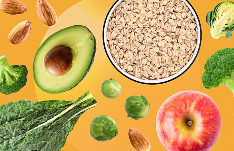 The Best Healthy High Fiber Foods