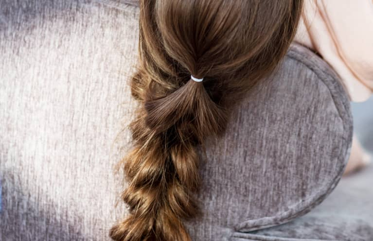 This Strange Hack Can Help Get A Rubber Band Out Of Your Hair—Without Breakage