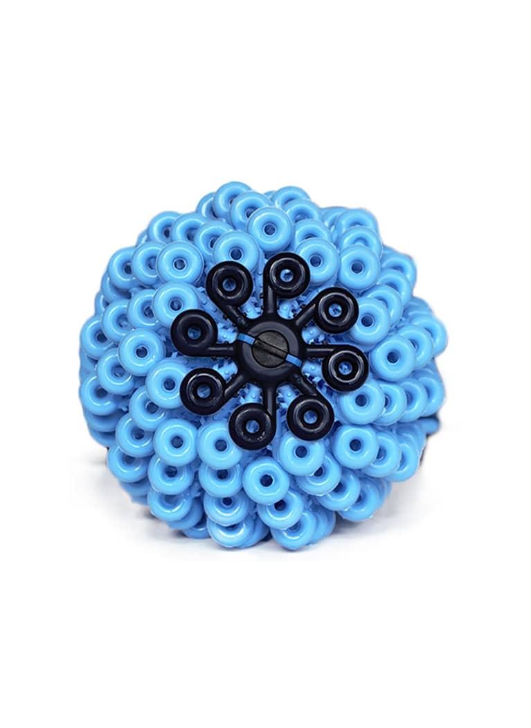 plastic blue ball