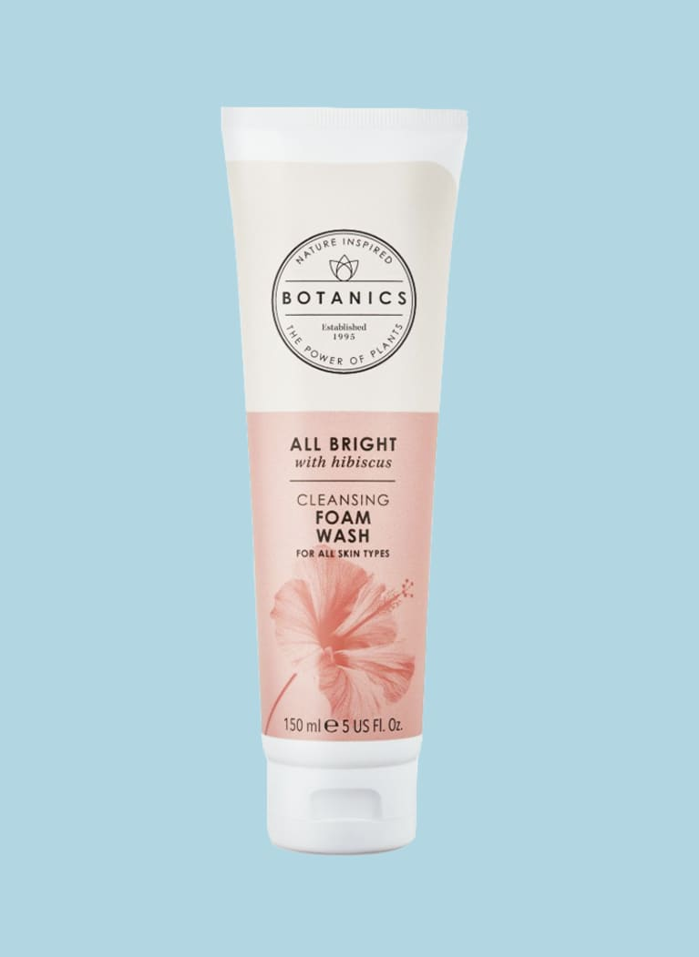 botanics face wash