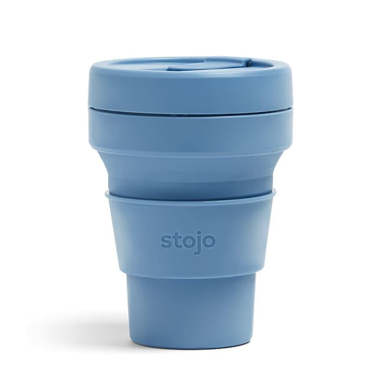 soft coffee mug in light blue