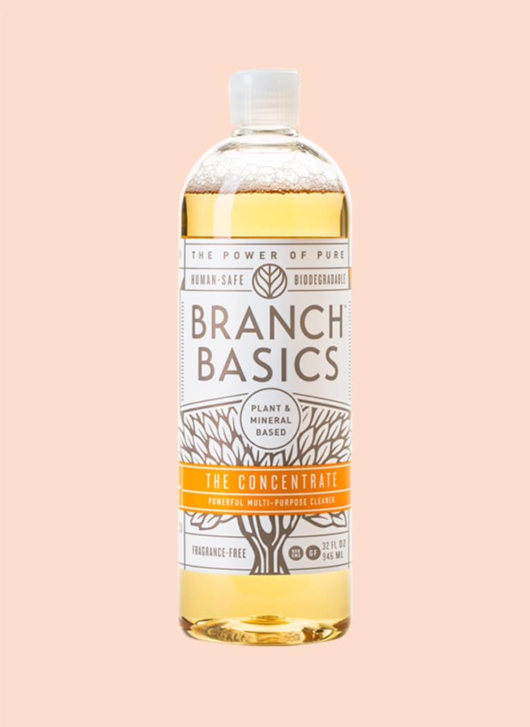 10. Instead of traditional all-purpose cleaner, use Branch Basics.