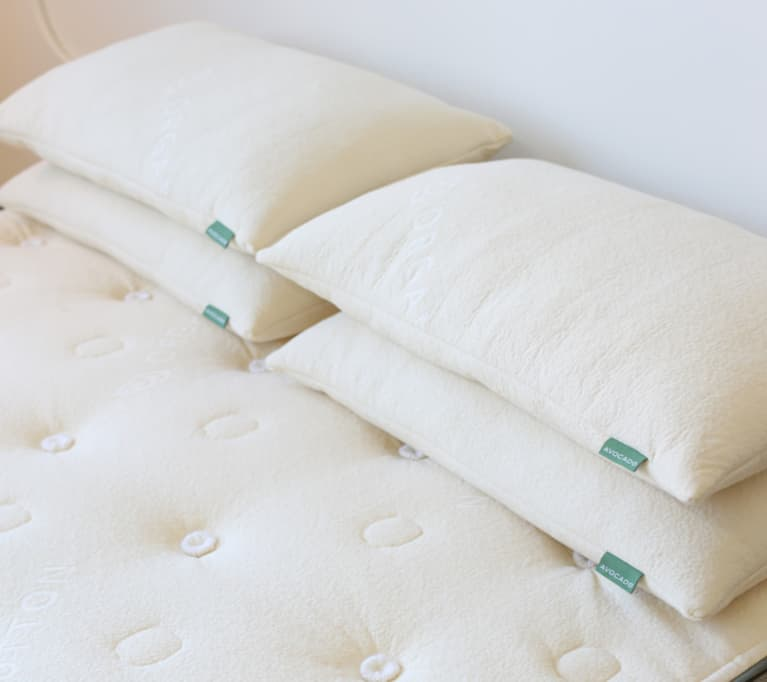 <p>The Avocado Green Pillow</p>