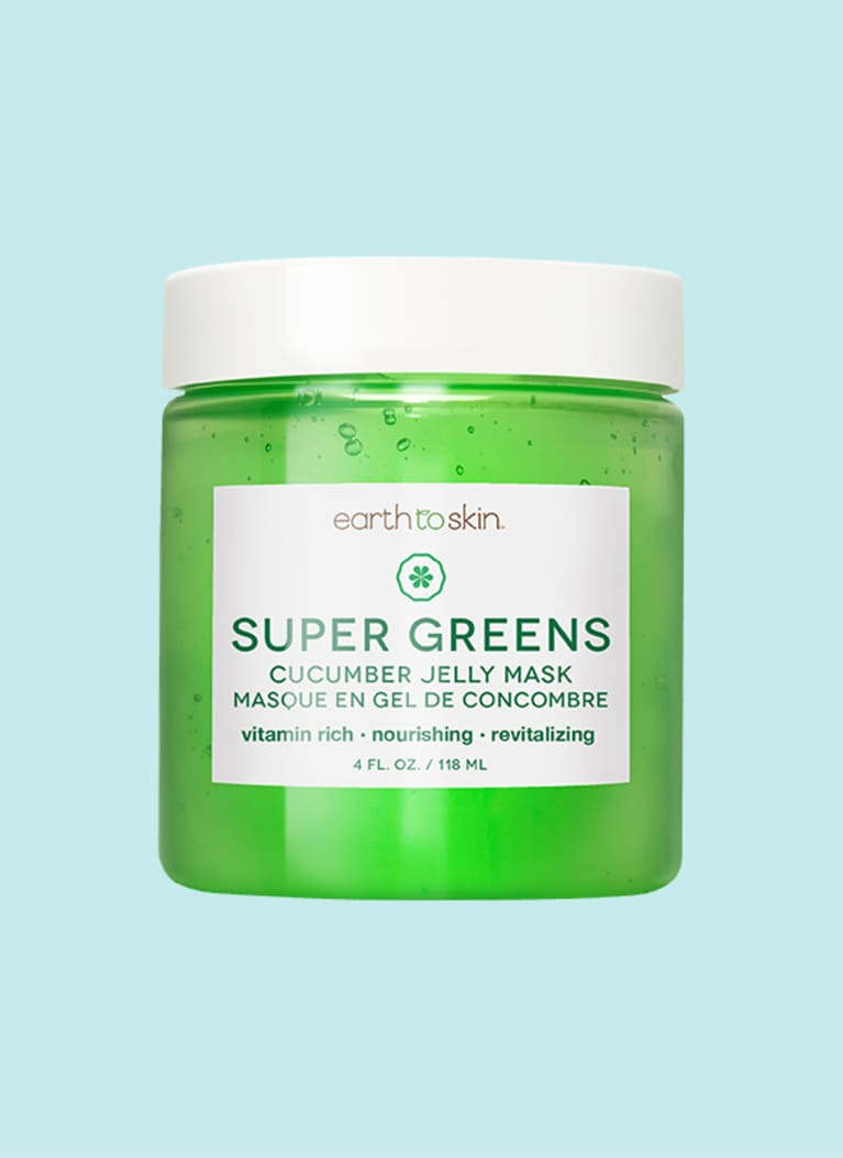 Super Greens Cucumber Jelly Mask