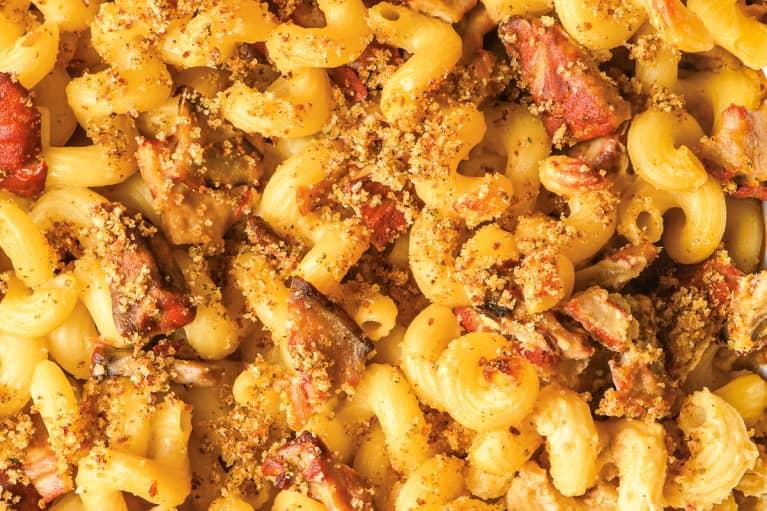 Vegan Lobster Mushroom Macaroni and Cheese