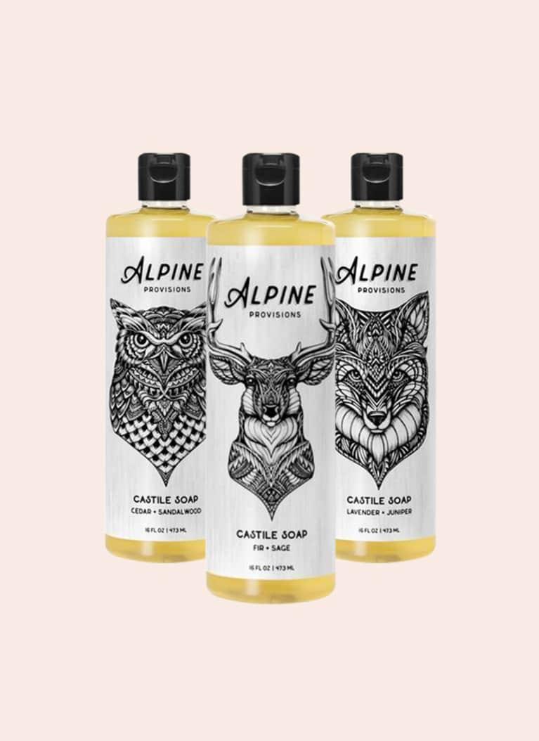 alpine provisions castile soap
