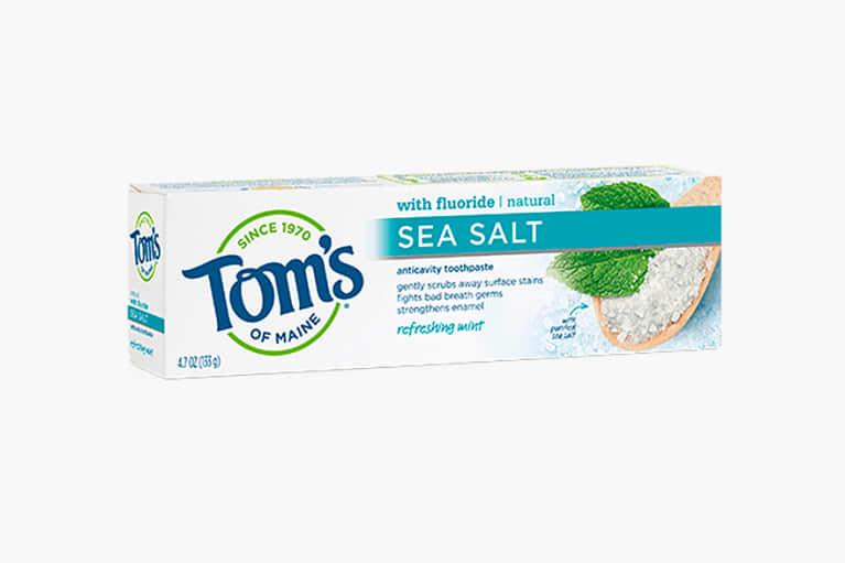 <p>Refreshing Mint Sea Salt Toothpaste</p>