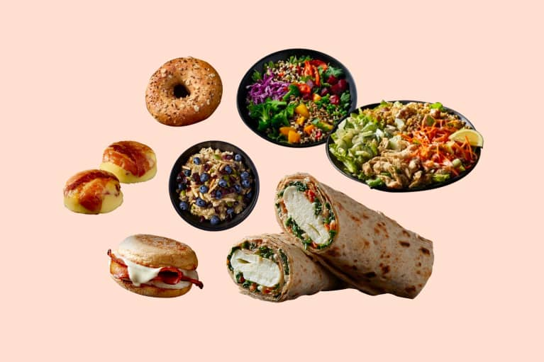Nutritionist recommended healthy meals at Starbucks