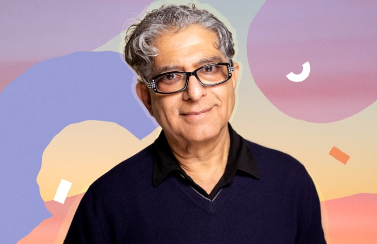 How Deepak Chopra Spends His Days
