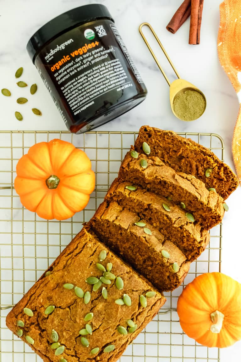 An RD-Approved Pumpkin Bread Recipe That's Secretly Nutritious