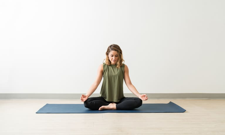 Meditation Yoga Pose