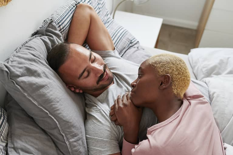 A Sleep Specialist Shares Her No. 1 Tip For Couples Sharing The Bed