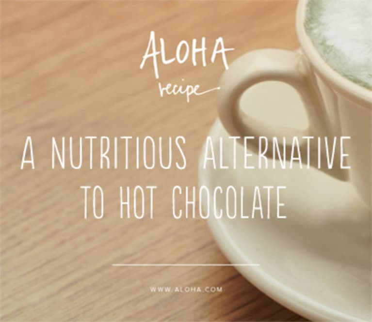 A Delicious And Healthy Alternative To Hot Chocolate