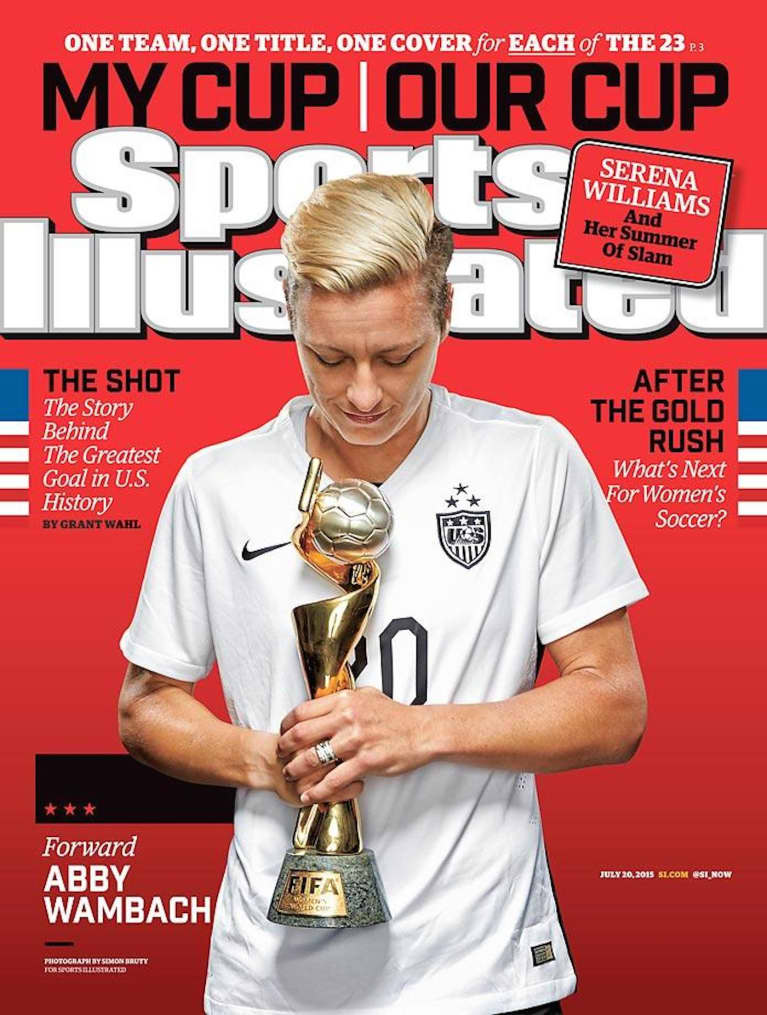 Every Member Of The USWNT Is Getting Her Own Sports Illustrated Cover