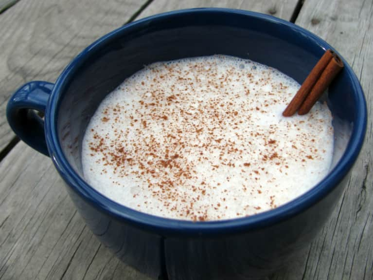DIY: Warm Ginger Almond Milk