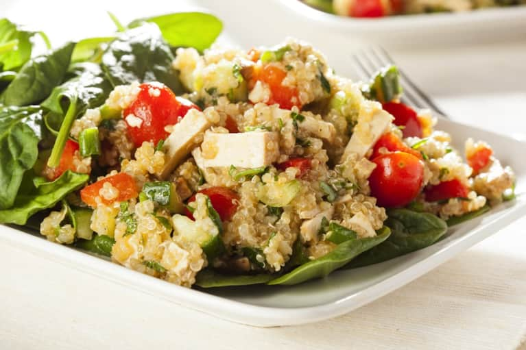 Quinoa & Swiss Chard Power Salad