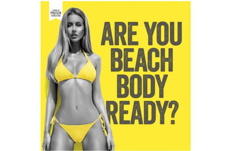 "Sexist ""Beach Body"" Ads Have Been Removed From London's Public Transit"