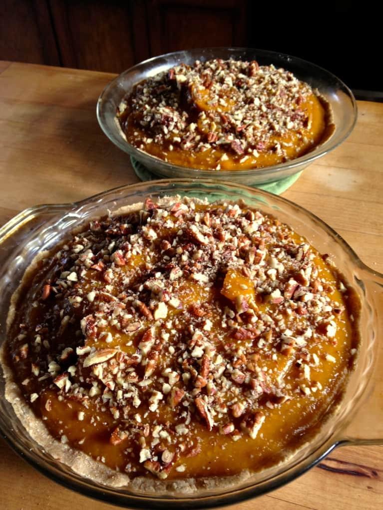 Nurturing Pumpkin Pie Recipe