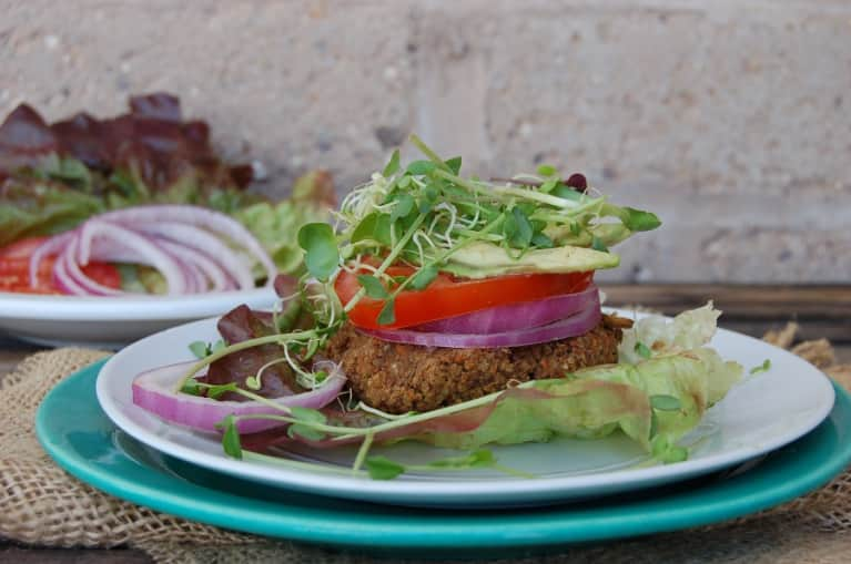 Vegan Black Bean Burgers Just In Time For Summer